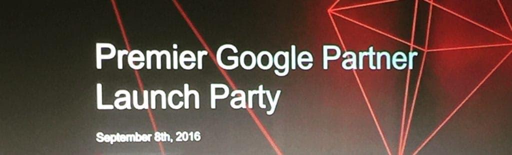 Google Premier Agency Launch